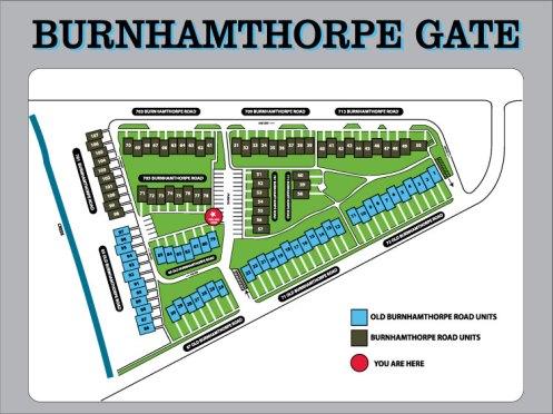 Burnhamthorpe Gate Map